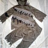 Карнавальный костюм зомби разбойника демона на 9-10 лет