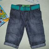 Модные шорты DenimCo 9-10л 134-140см Мега выбор обуви и одежды