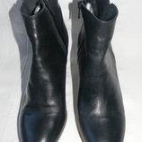 Женские кожаные полусапожки Jones р.38 дл.ст 25см
