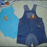 Ромпер Бодик Disney 3-6м 62-68см Мега выбор обуви и одежды