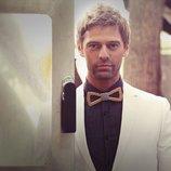 Бабочка галстук деревянная мужской модный стиль