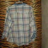 Супер рубашка george р.24,индия,99%коттон,1%металик