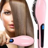 Расческа-Выпрямитель Fast hair straightener hot-906 .