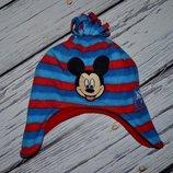 Обалденная фирменная шапка шапочка Микки Маус 1 - 3 года оригинал Дисней Disney