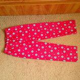 Теплые пижамные штаны PRIMARK 7-8 лет 122-128 см