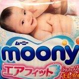 Японские подгузники Moony. Поштучная продажа