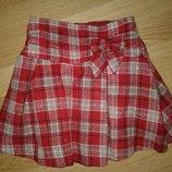 Фирменная теплая юбка в школу