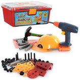 Детский набор инструментов Мастер 2056 в чемоданчике