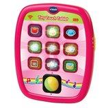 VTech Умный планшет развивающий для девочек розовый Tiny Touch Tablet, Pink