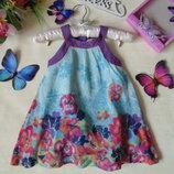 Изысканное платье John Lewis 9-12м 74-80см Мега выбор обуви и одежды