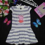 Платье M&S Peppa Pig 4-5л 104-110см Мега выбор обуви и одежды