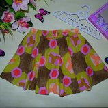 Яркая юбка Next 7лет 122см Мега выбор обуви и одежды