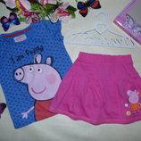Юбка Peppa Pig 3-4г 98-104см Мега выбор обуви и одежды