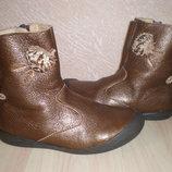 Сапоги-Ботинки Vertbaudet р.26 16,5 см Кожа