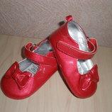 Туфли, пинетки Mini Mode р.17-18 6-9 мес. Новые