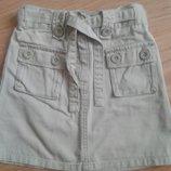Модняча фирменная юбка 4-6л.