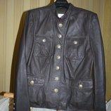 Куртка, натуральная кожа Италия, AlbaModa p L
