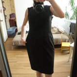 Классическое офисное платье осень весна размер M/L