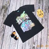 Фирменная футболка George для мальчика 7-8 лет, 122-128 см