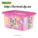 Конструктор Wader 132 эл. в коробке для девочек 41280