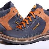 Ботинки кожаные зимние Timberland Winter Dark Blue