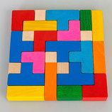 Деревянная игра головоломка Тетрис Тато. В наличии.