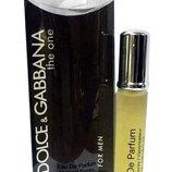 Мужской мини парфюм Dolce&Gabbana The One 20 ml
