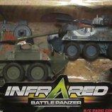 Танковый бой радиоуправление, 2 танка