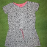 платье -туника на 7-8 лет