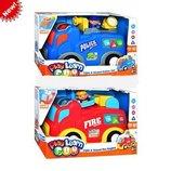 Пожарная и полицейская машина 12671-2 KEENWAY
