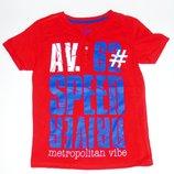 Красная футболка, 122, 128, 7 лет Состояние новой
