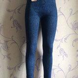 Женские джеггинсы бесшовные лосины под джинс Весенние модели