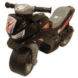 Мотоцикл Орион черный 501 каталка байк толкатель