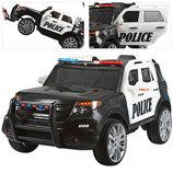 Детский джип M 3259 EBLR-1-2 , Police Полоция , сиденье кожа, громкоговоритель