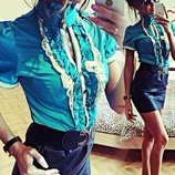 Блузка бирюза