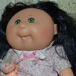 Cabbage Patch Kids Большая коллекционная виниловая кукла капустка куколка пупс