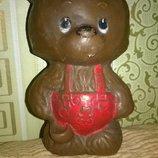 Коллекционный винтажный мишка медведь ссср игрушка кукла