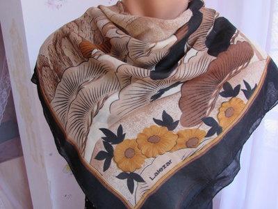 Шелковый платок в японском стиле.