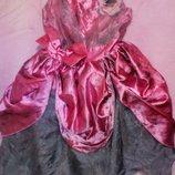 Карнавальное новогоднее платье Принцессы на 3-4годаTu