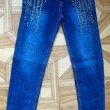 Детские джинсы для девочки рр. 110-134