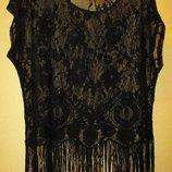 Очень красивая Блуза George кружево большой размер