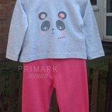 Трикотажная пижама для девочки 1- 2 года Primark