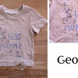 футболка george 9-12 мес
