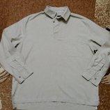 Рубашка Oxford Blue, размер М, лен-коттон