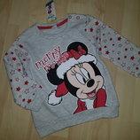 Красивый свитшот с начесом Disney