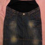 юбка джинсовая для беременных H&M размер M Пакистан