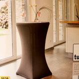 Стрейчевый чехол для круглого столика Tukan Германия