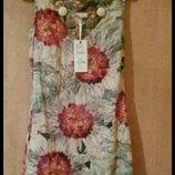 Турция. Новое Шикарное льняное платье с этикеткой