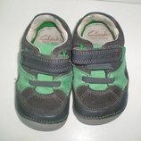 пинетки туфли кроссовки Clarks р. 3.5 F, 12.5 см