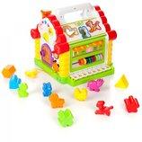 Развивающая игрушка сортер 9196 Теремок для малышей